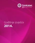 Tim Kabel - godišnje izvješće 2014.