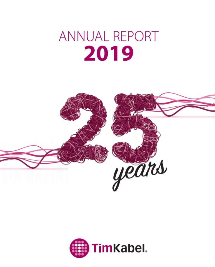 Tim Kabel - Annual Report 2019.